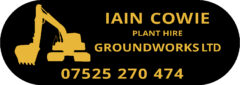 Iain Cowie Plant Hire and Groundworks Ltd
